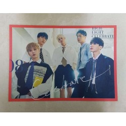 K-POP Highlight 2nd Mini Album [CELEBRATE] C Ver. OFFICIAL POSTER -NEW-